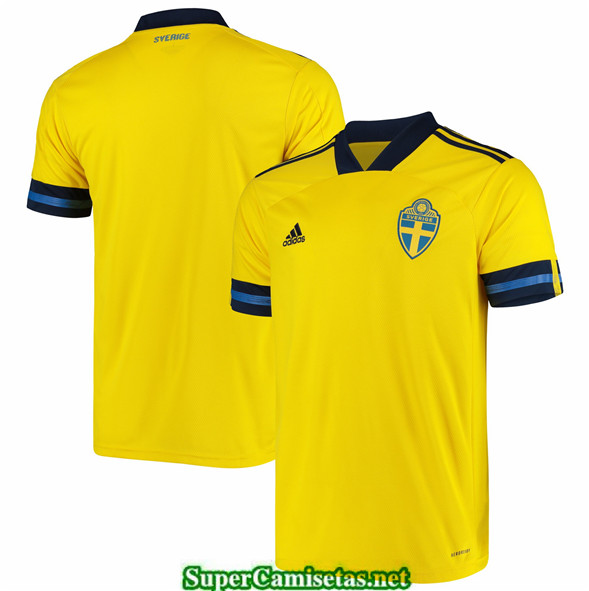 Tailandia Primera Equipacion Camiseta Suecia Uefa Euro 2020/2021