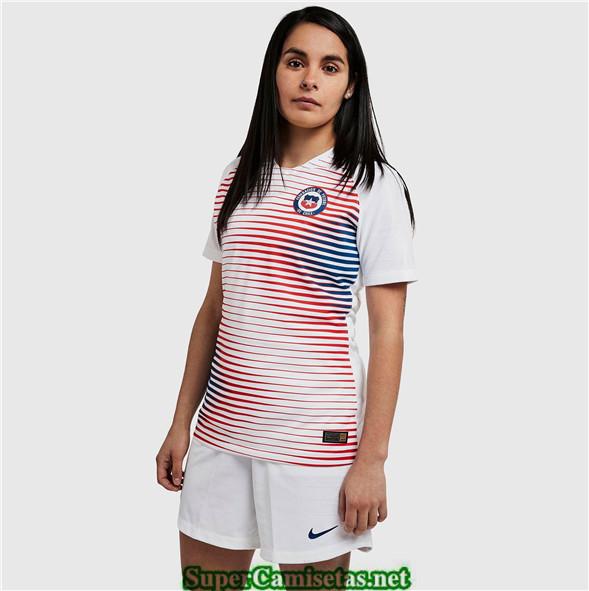 Tailandia Segunda Equipacion Camiseta Chile Mujer 2019 2020