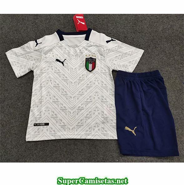 Tailandia Segunda Equipacion Camiseta Italia Niños Uefa Euro 2020/2021