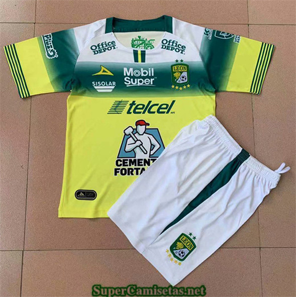 Tailandia Segunda Equipacion Camiseta Leon Niños 2019 2020