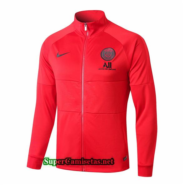 Tailandia Camiseta Psg Chaqueta V296 Rojo 2019/20